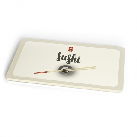 Planche a decouper en bambou 23,5 x 14,5 cm Sushi - Chic Mic