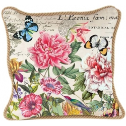 Coussin rectangulaire - Peony