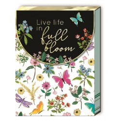 Pocket carnet de notes aimanté - Full Bloom