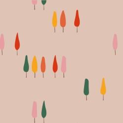 20 Serviettes 100% Bambou 33x33 cm Summer Forest - Chic Mic