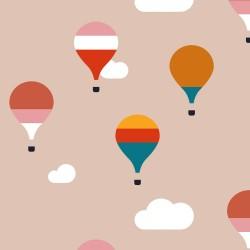 20 Serviettes 100% Bambou 33x33 cm Air Ballon - Chic Mic