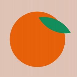 20 Serviettes 100% Bambou 33x33 cm Orange - Chic Mic