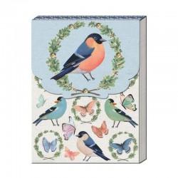 Pocket carnet de notes 'Birds & Butterflies'