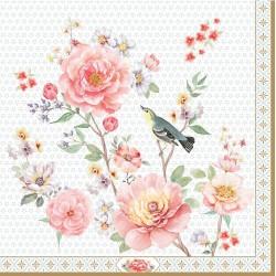 20 Serviettes en papier - A Day in the Garden