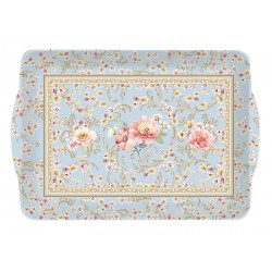 Plateau rectangulaire MM 33x22 cm (mélamine) - Majestic Flowers