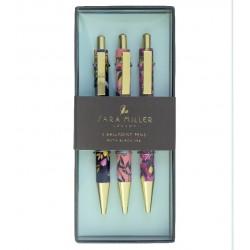 Coffret 3 stylos bille - Sara Miller London