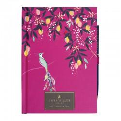 Carnet de notes & stylo (12,5x17,5 cm) -Sara Miller London