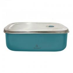 Lunchbox 500ml en acier inoxydable Teal - Bioloco Sky