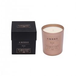 Bougie parfumée 180 gr - Ambre Boisé