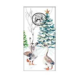 Paquet de 10 mouchoirs en papier - Christmas Snow