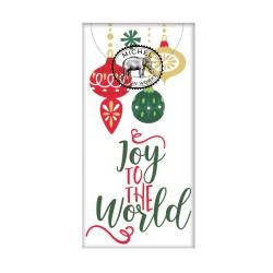 Paquet de 10 mouchoirs en papier - Joy to the World