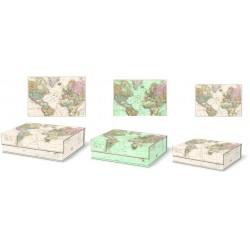 Set de 3 boîtes rectangulaires gigognes GM - Map Routes