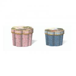 Set de 2 boîtes cannelures gigognes - Paris Promenade