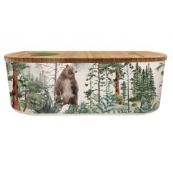Lunch box 500ml en matiere vegetale Forest - Bioloco Plant