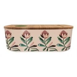 Lunch box 500ml en matiere vegetale Protea Pattern - Bioloco Plant