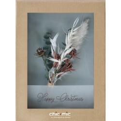 Coffret fleurs séchées Happy Christmas - Chic Mic