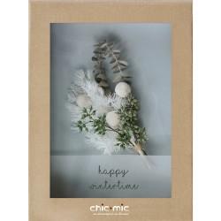 Coffret fleurs séchées Happy Wintertime - Chic Mic