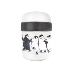 Lunch Pot 2 compartiments Penguins - Bioloco Plant