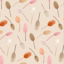 20 Serviettes 100% Bambou 33x33 cm Dried Flowers Pattern - Chic Mic