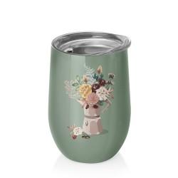 Mug de bureau 420ml Bioloco Office Mocca Flowers - Chic Mic