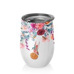 Mug de bureau 420ml Bioloco Office Bees & Flowers - Chic Mic