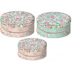 Set de 3 boîtes chapeaux gigognes GM - Chinoisery Floral