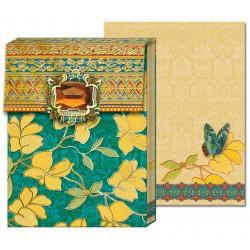 Pocket Carnet Notes 'Bijou Jaune'