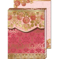 Pocket Carnet Notes 'Cachemire Rose'