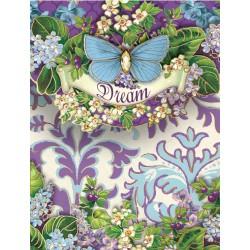 Pocket Carnet Notes 'Dream Brocage Garden'