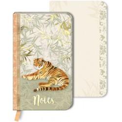 Carnet de notes PM Chinoiserie Garden 'Tiger Chinoiserie'