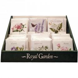 Présentoir 72 sachets parfumés anglais OFFERT SI REMPLI