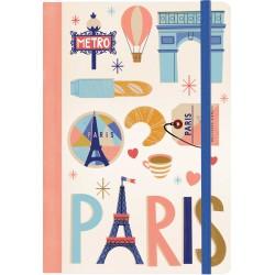 Carnet de notes 'Paris'