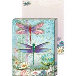 Pocket Carnet Notes 'Libellules & Lotus'