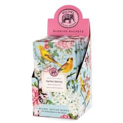 Présentoir de 12 schets parfumés 'Garden Melody'