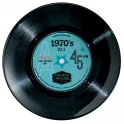 Assiette plate mélamine PM Vintage '70's Single'
