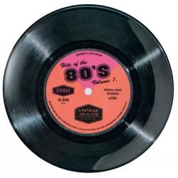 Assiette plate mélamine PM Vintage '80's Single'