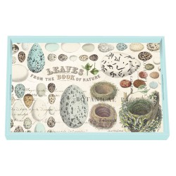 Wooden vanity tray - Nest & eggs