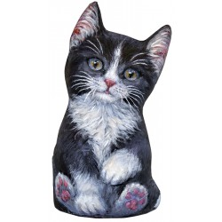Cale-Porte Chat MM 'Black & White'