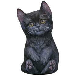 Cale-Porte Chat MM 'Black Kitten'