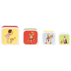 Set 4 boîtes alimentaires 'Belle & Boo'