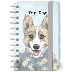Pocket carnet de notes (Top Dog) 'Pets'