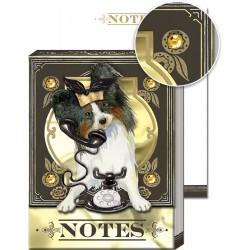 Pocket Carnet Notes 'Chien & Téléphone'