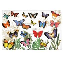 Tapis en coton 'Papillon'