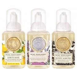 Set 3 savons moussants (140 ml) -Lavander/Lemon/Honey Almond