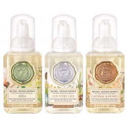 Set 3 savons moussants (140 ml) -Shea/Country/Oatmeal Honey