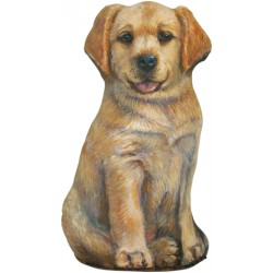 Cale-Porte Chien GM - 'Yellow Lab'