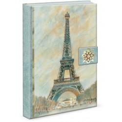 Carnet de notes Brooch 'Scenes of Paris'