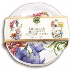 Set 4 assiettes dessert 'Summer Days'