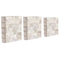 Set 3 boîtes livres GM 'Globe Squares'