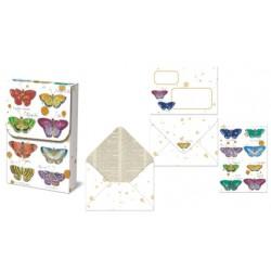 Pochette correspondance 'Colorful Specimens'